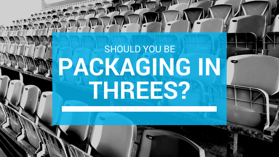 Why Packaging in Threes is Magically Profitable