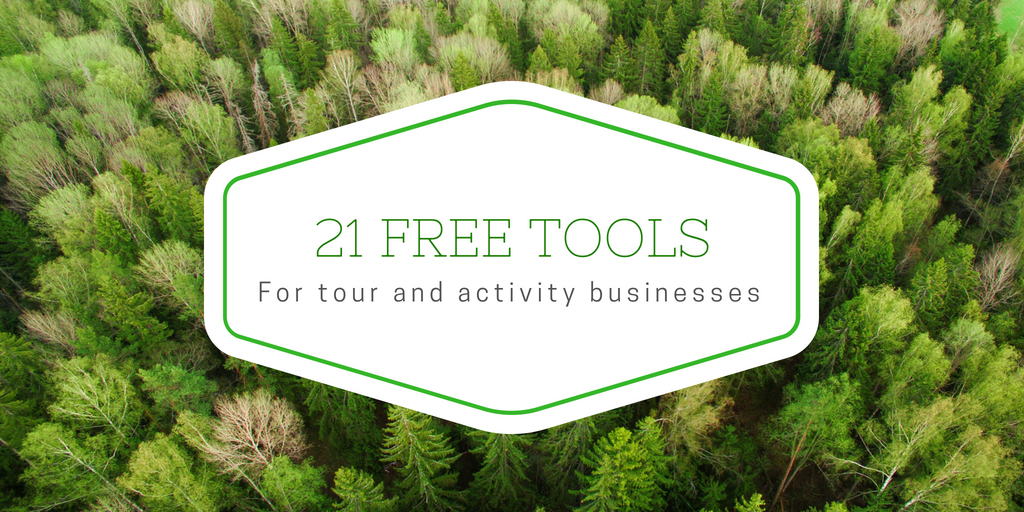 21 Free Tools for Tour and Activity Businesses