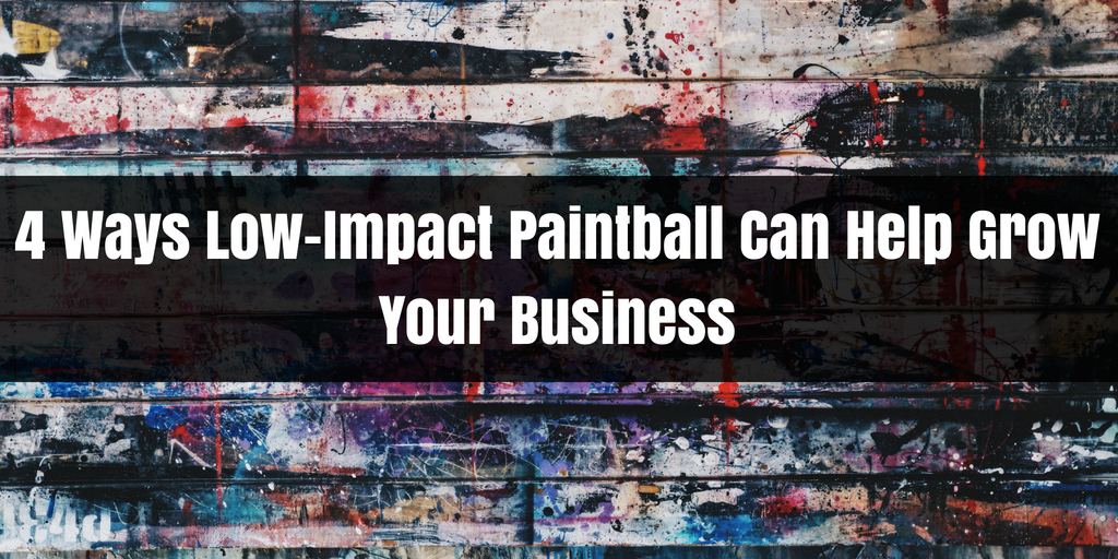 More Smiles, Less Sting: 4 Ways Low-Impact Paintball Can Help Grow Your Business