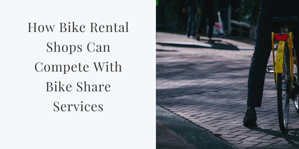 How Bike Rental Shops Can Compete with Bike Sharing Services