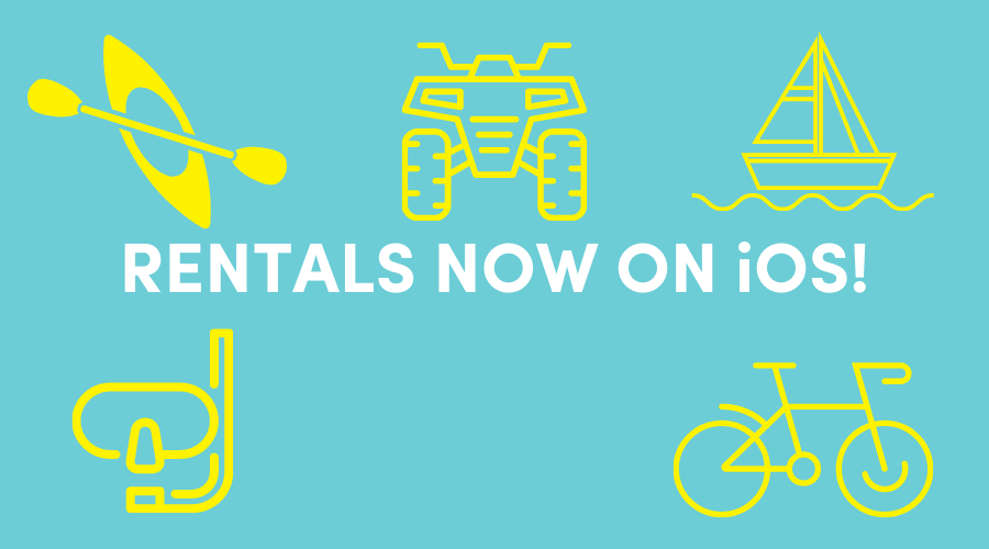 Rentals are now on iOS!
