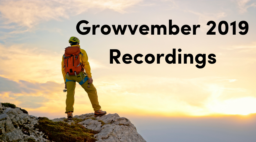 Growvember 2019: Listen to the recordings here!