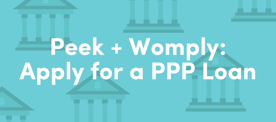 Peek + Womply: Apply for a PPP Loan